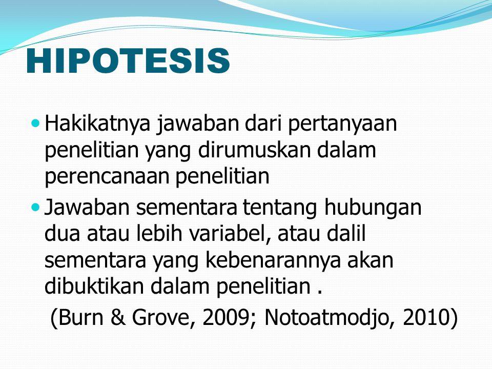 TIPE HIPOTESIS 1.