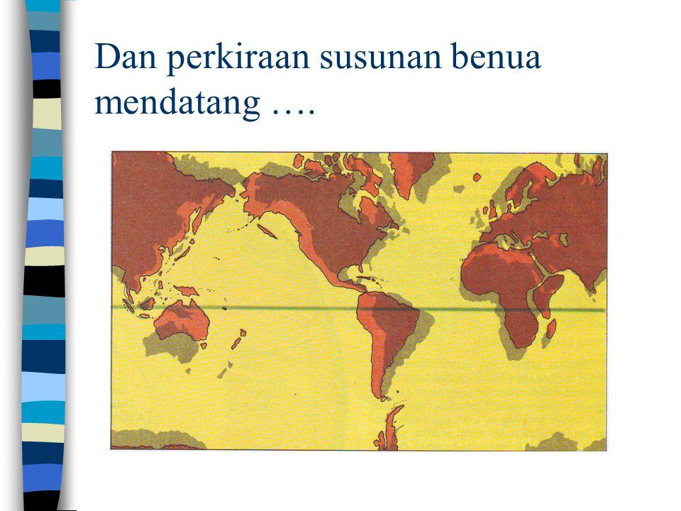 Subduksi : penghunjaman akibat pertumbukan dua lempeng tektonik