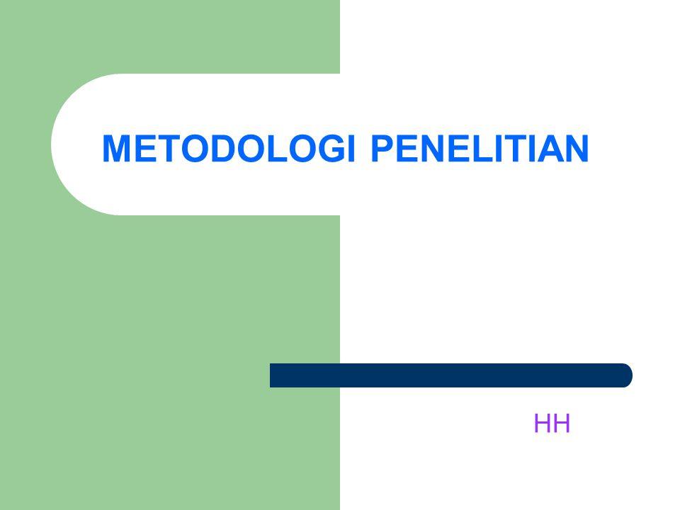 METODOLOGI PENELITIAN HH