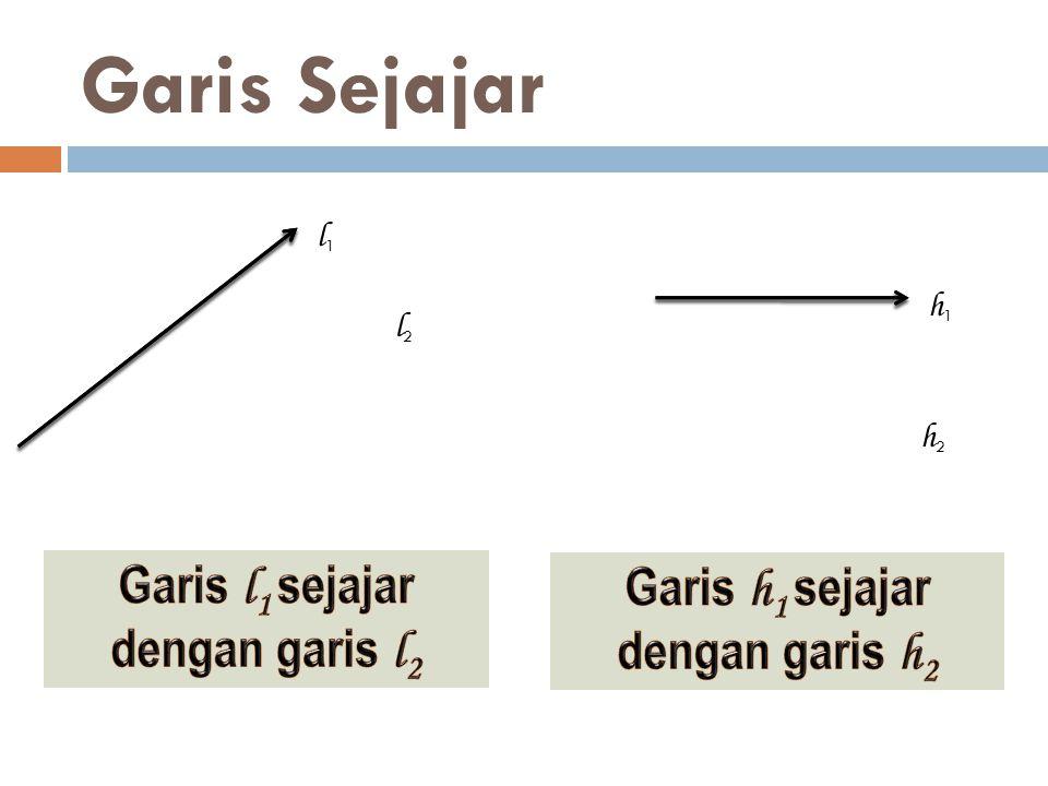 Pada gambar diketahui garis AB // EC,' sudut BAC = 35 o, dan ' sudut DCE = 70 o.