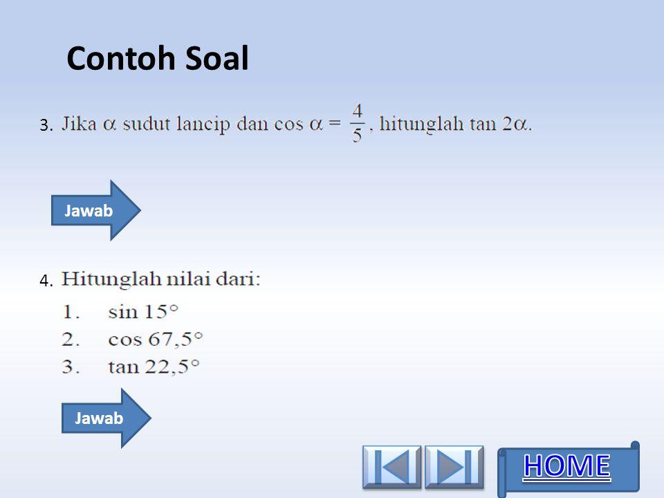 3.3. Contoh Soal 4. Jawab