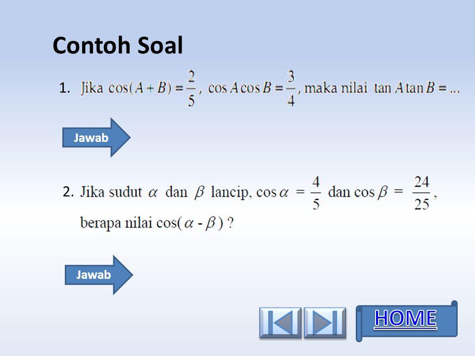 Contoh Soal 5.5. 6.6. 4.4. Jawab