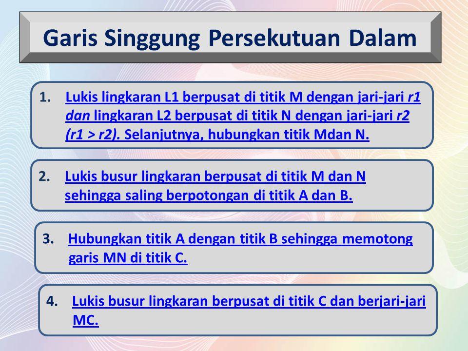 R P E D C B A NM r 1 -r 2 Langkah 6