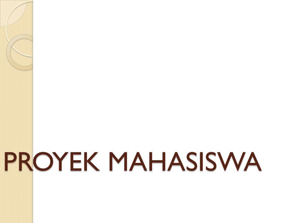 PROYEK MAHASISWA