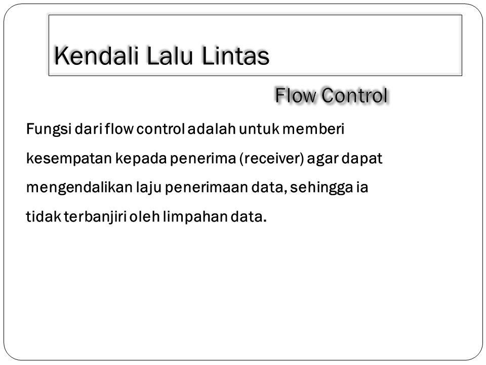 Kendali Lalu Lintas 1.Digunakan untuk menangani terjadinya kemacetan.