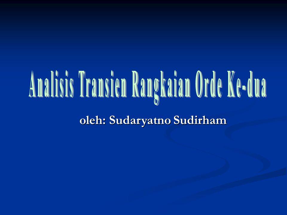 oleh: Sudaryatno Sudirham