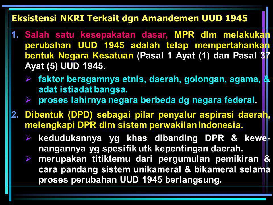  Pertimbangan DPR diperlukan oleh Presiden dlm hal Presiden akan angkat & terima Duta, pemberian amnesti &abolisi.  Persetujuan & pertimbangan DPR d