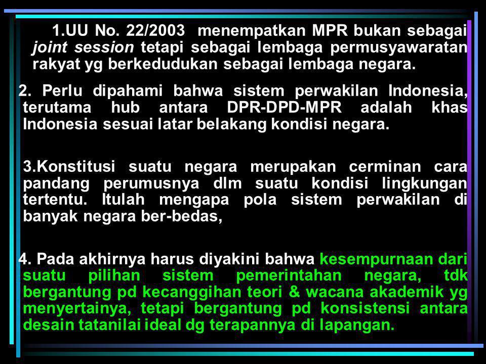 Eksistensi NKRI Terkait dgn Amandemen UUD 1945 1.Salah satu kesepakatan dasar, MPR dlm melakukan perubahan UUD 1945 adalah tetap mempertahankan bentuk