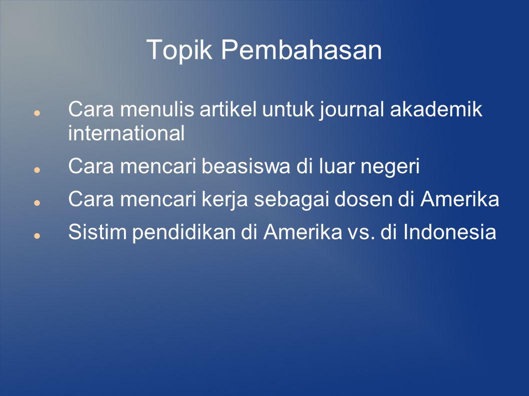 Contoh Beasiswa S1 Olah Raga yang di dapat Orang Indonesia Atlit mendayung, Syracuse University, New York.