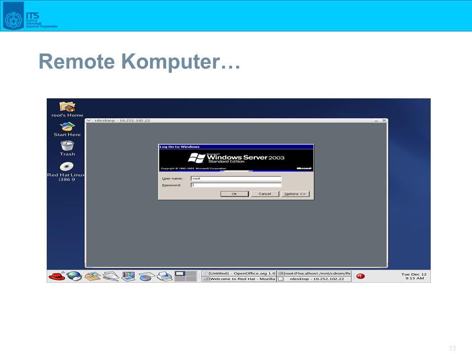 13 Remote Komputer…