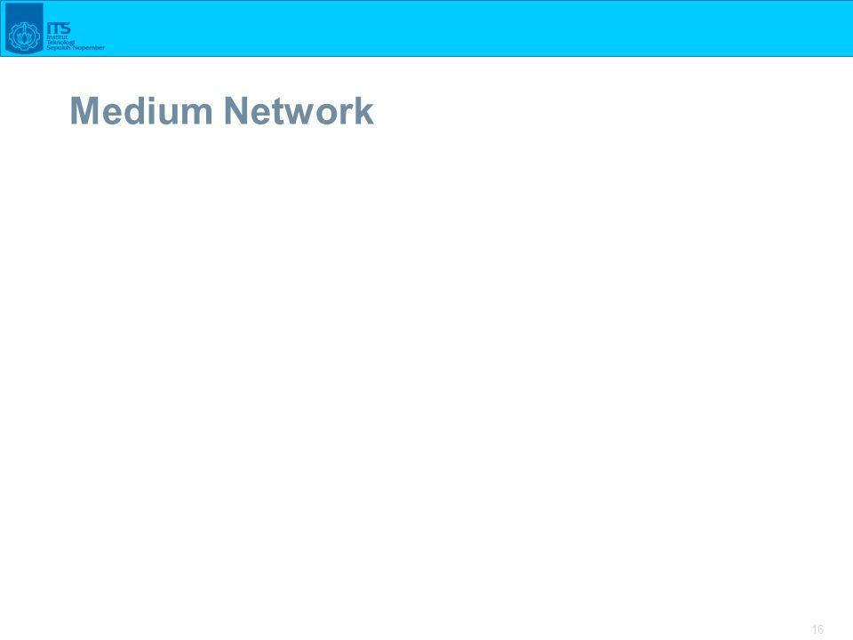 16 Medium Network