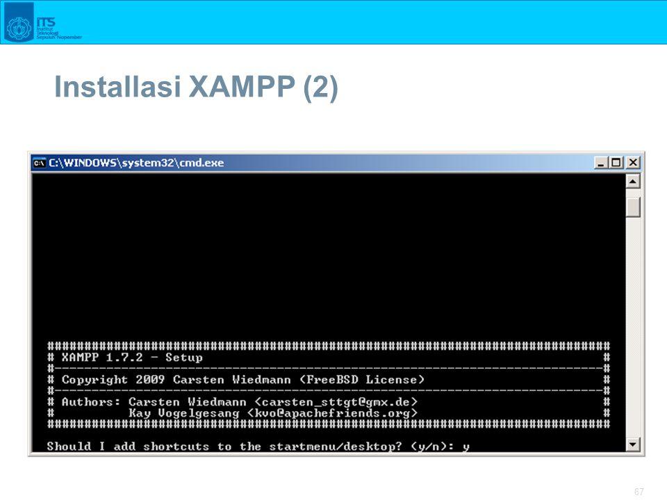 67 Installasi XAMPP (2)