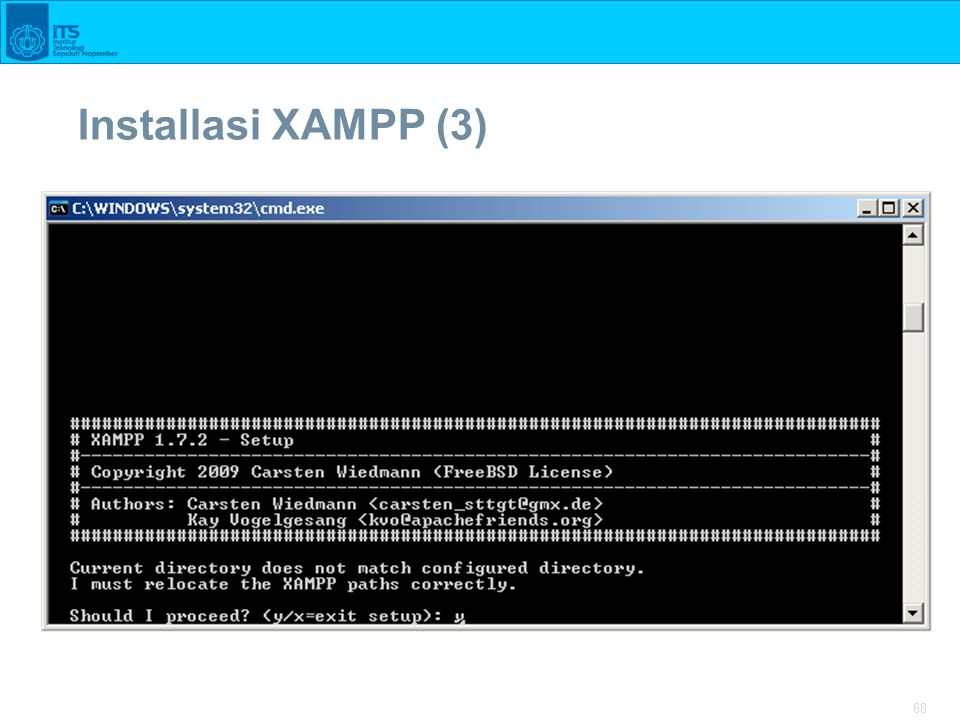 68 Installasi XAMPP (3)