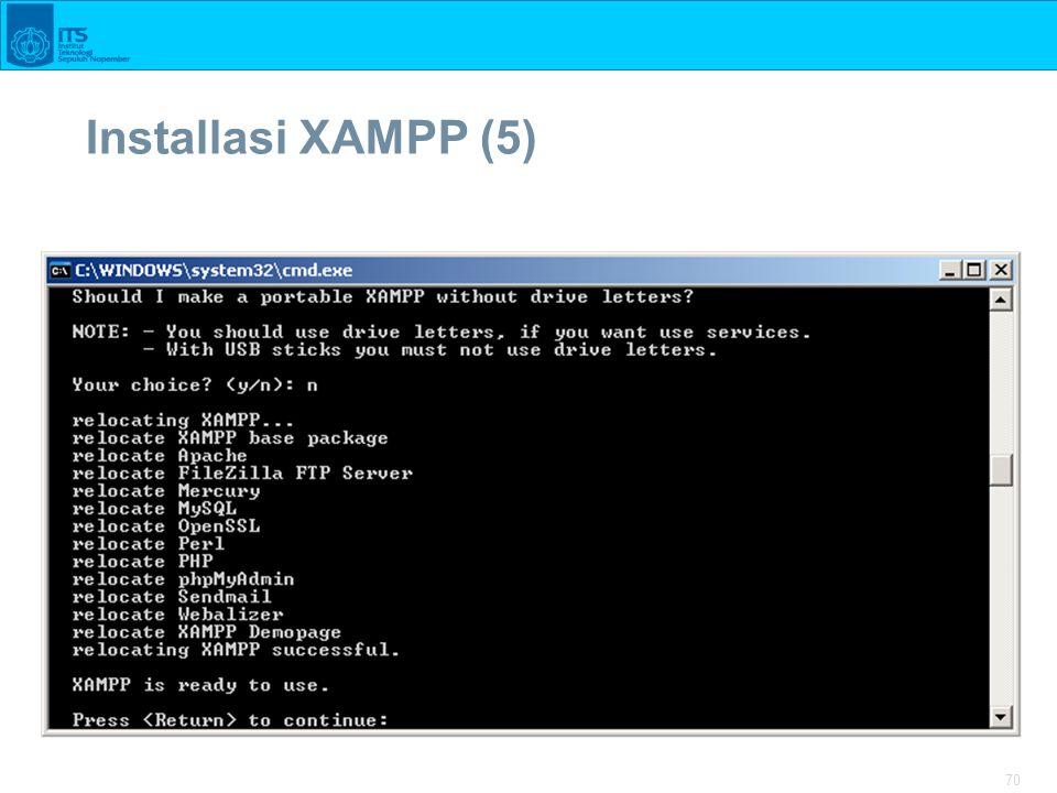 70 Installasi XAMPP (5)