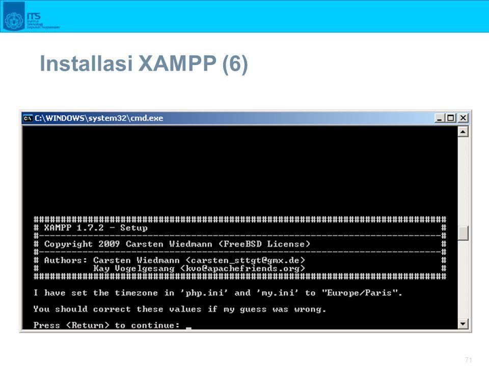 71 Installasi XAMPP (6)