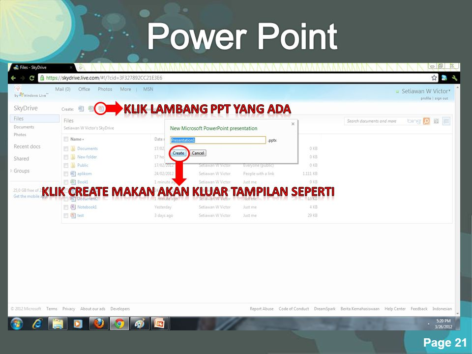 Powerpoint Templates Page 20