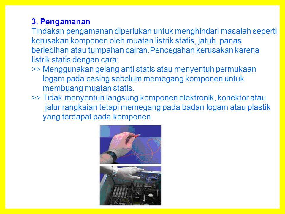 1.Perakitan Tahapan proses pada perakitan komputer terdiri dari: 1.