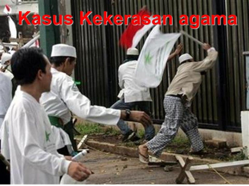 Kasus Kekerasan agama