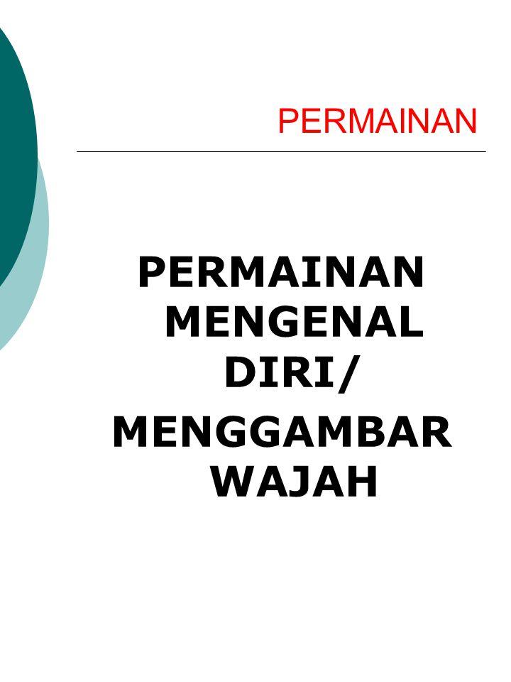 PERMAINAN PERMAINAN MENGENAL DIRI/ MENGGAMBAR WAJAH