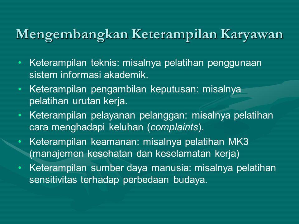 Tugas Individual (waktu: 30 menit) Buat deskripsi pekerjaan dari satu jabatan yang Anda ketahui dengan baik (dalam bahasa Inggris dan bahasa Indonesia).