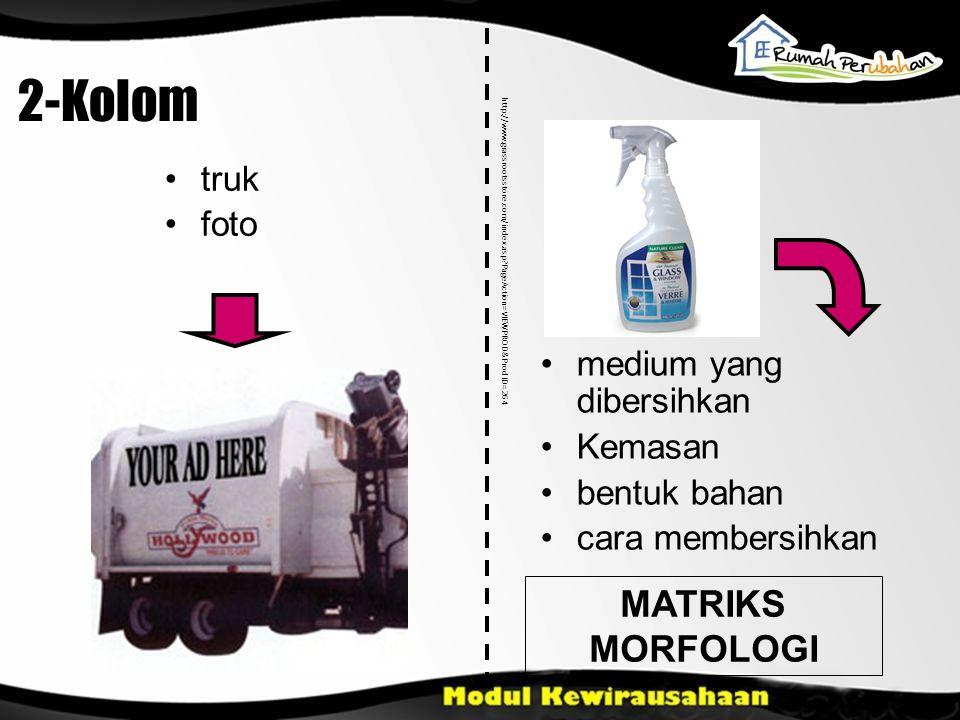 2-Kolom MATRIKS MORFOLOGI truk foto medium yang dibersihkan Kemasan bentuk bahan cara membersihkan http://www.grassrootsstore.com/index.asp?PageAction