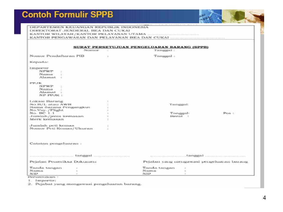5.Berbagai dokumen impor (hampir sama dengan dokumen ekspor) : a.Surat penawaran harga dari eksportir luar negeri b.Kontrak jual beli impor (Sale's Co