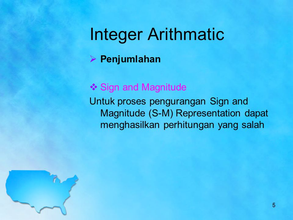 Soal Latihan Dengan Aturan Unsigned Integer lakukanlah perkalian berikut : 1.8 x 3 2.4 x 7 3.3 x 9 Dengan Aturan alogoritma Booth lakukanlah perkalian berikut : a.12 x -12 b.12 x 15 c.10 x 17