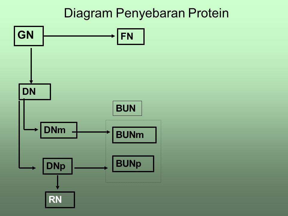 Diagram Penyebaran Energi DE ME GE FE MEm MEp RE BUE Hm Hp H