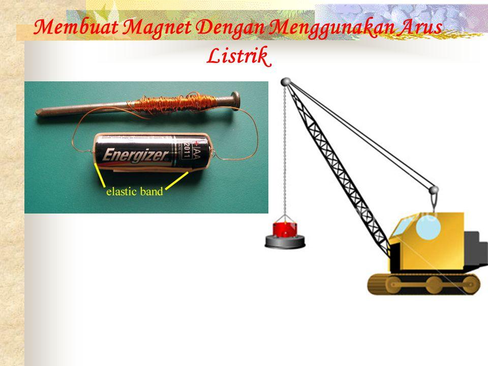 Membuat Magnet Dengan Menggunakan Arus Listrik