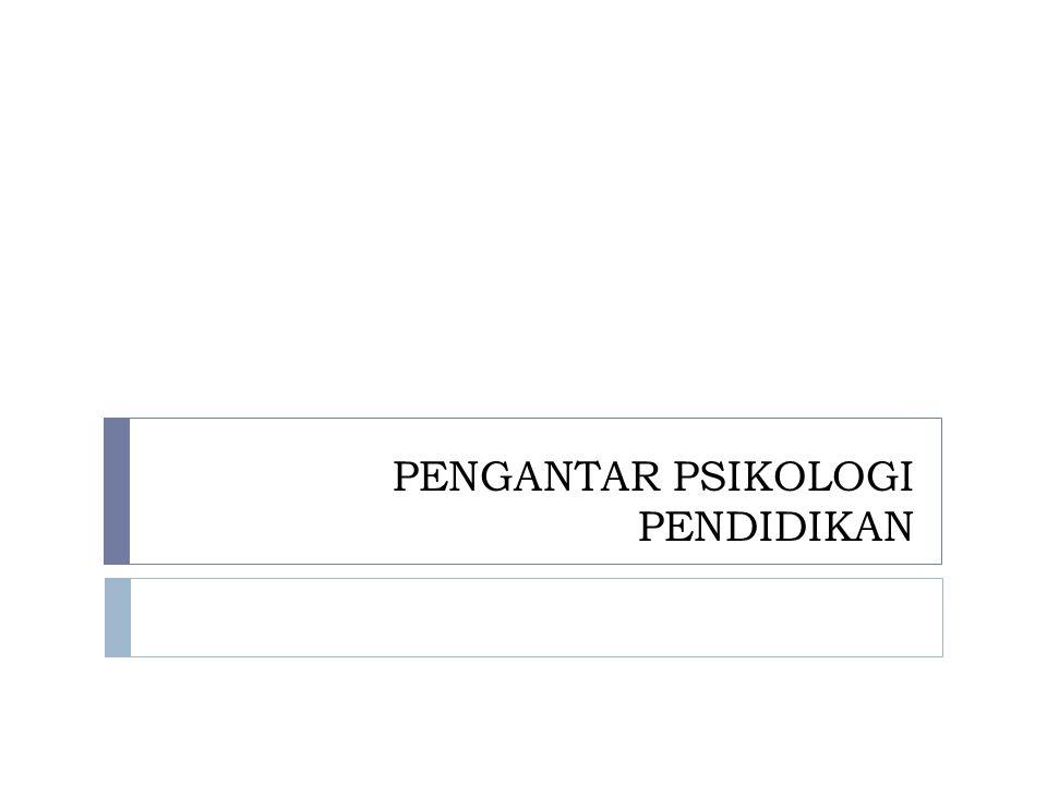 SEJARAH  Psikologi pendidikan merupakan cabang dari ilmu psikologi yang mengkaji pemahaman mengenai pembelajaran dalam pendidikan  Bidang ini dibentuk oleh beberapa ahli psikologi pada akhir abad ke – 19 tepat sebelum abad ke-20