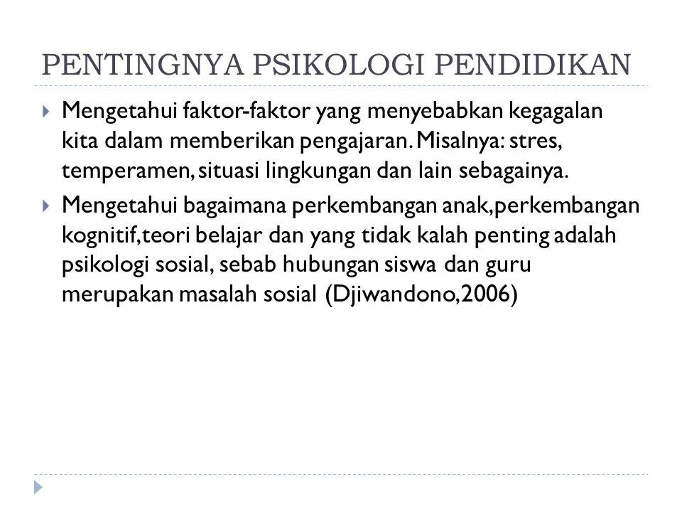 PENGAJAR  Trik/ cara-cara untuk mengatasi permasalahan psikologis siswa  Misalnya :