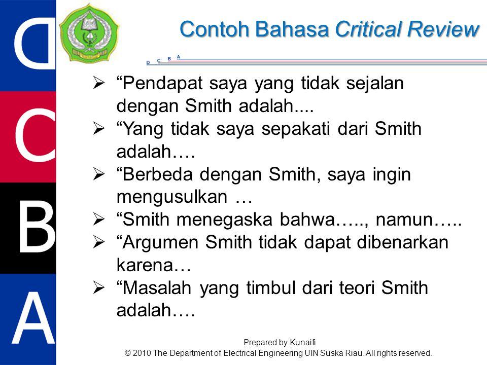  Pendapat saya yang tidak sejalan dengan Smith adalah....