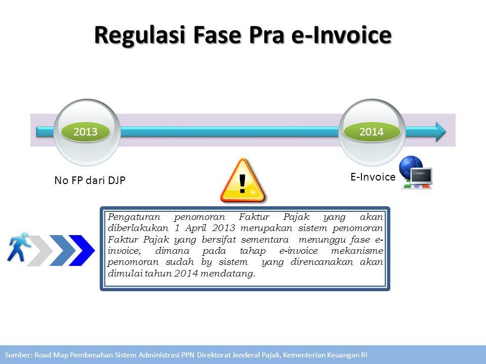 2013 2014 E-Invoice No FP dari DJP Pengaturan penomoran Faktur Pajak yang akan diberlakukan 1 April 2013 merupakan sistem penomoran Faktur Pajak yang