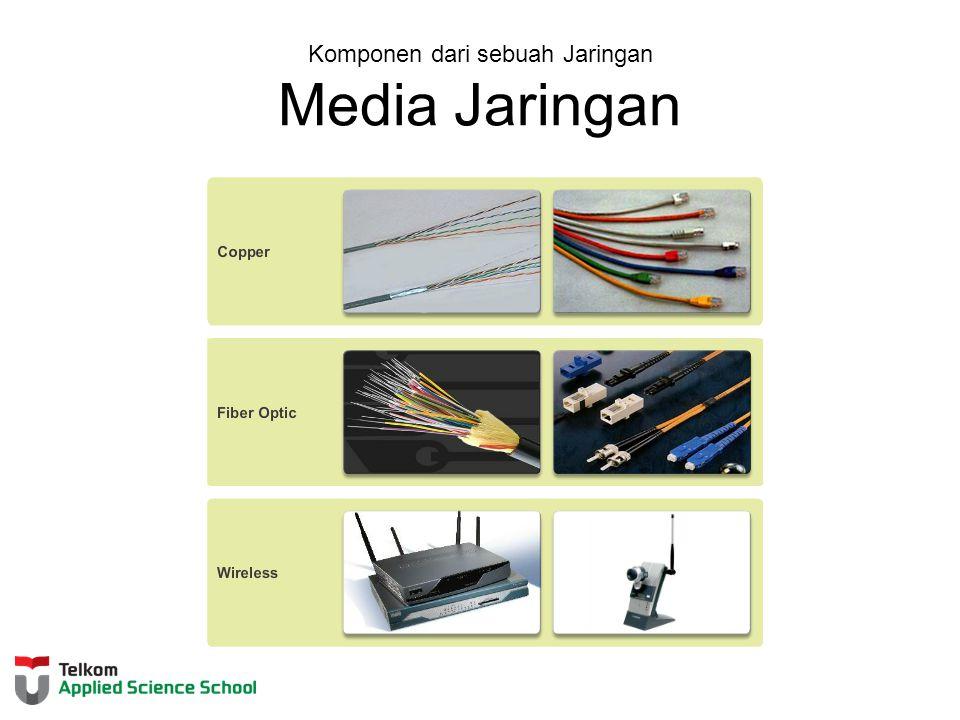 Komponen dari sebuah Jaringan Media Jaringan