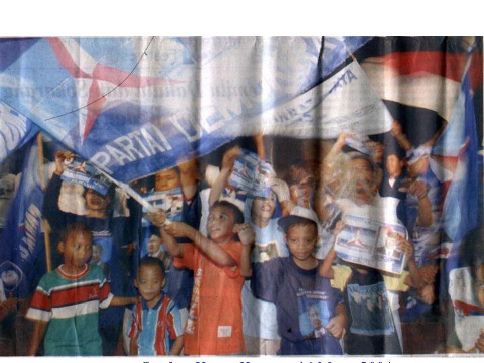 Sumber Koran Kompas 16 Maret 2004