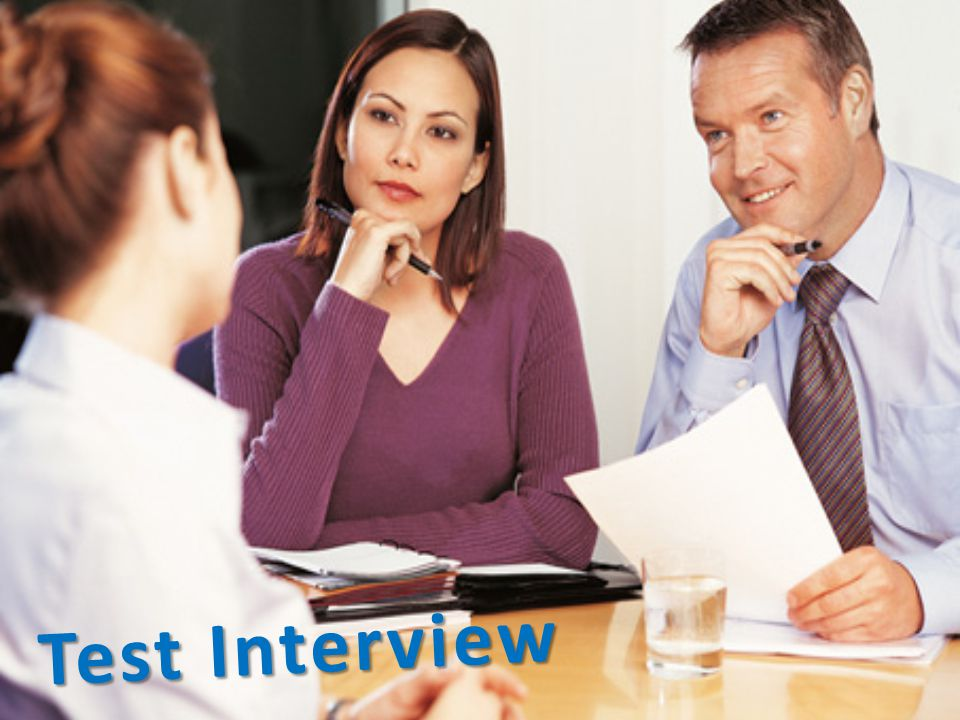 Test Interview