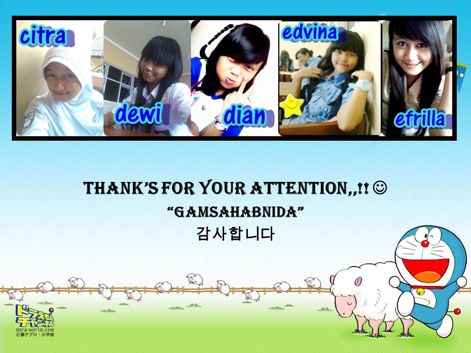 Thank's for your attention,,!! Gamsahabnida 감사합니다