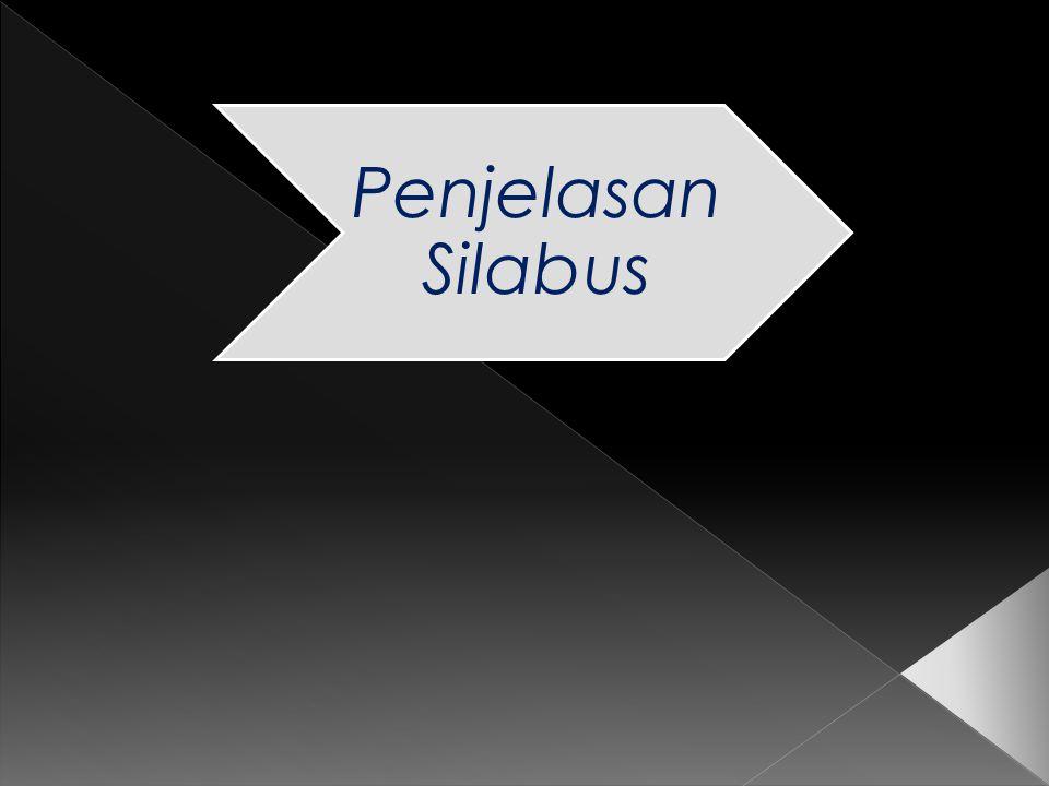 Penjelasan Silabus