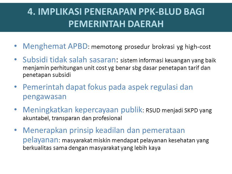 Menghemat APBD : memotong prosedur brokrasi yg high-cost Subsidi tidak salah sasaran: sistem informasi keuangan yang baik menjamin perhitungan unit co