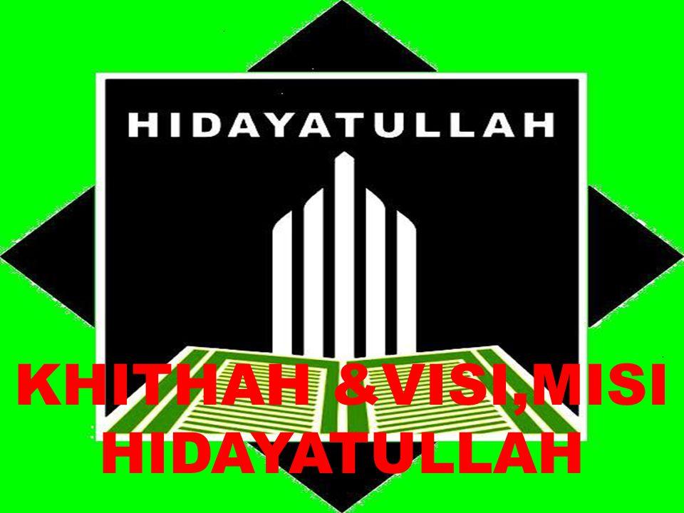 E.SARANA MENCAPAI VISI, MISI 1.Menjadikan Al-Qur'an dan As-Sunnah Sebagai Kajian 2.
