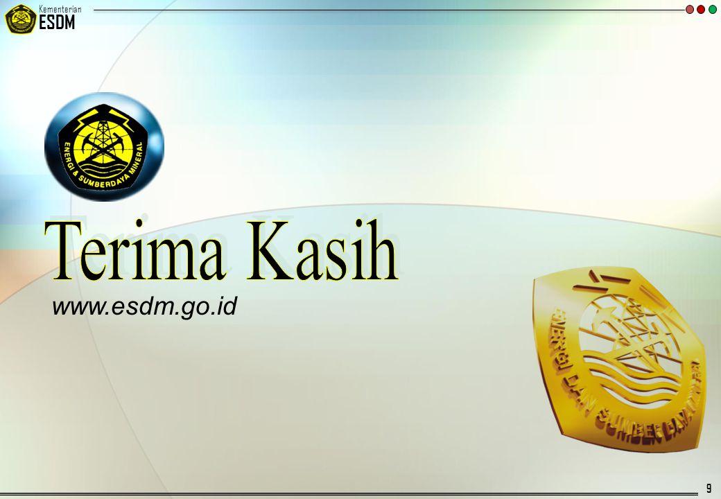 © 20092007 Kementerian ESDM 10 LAMPIRAN