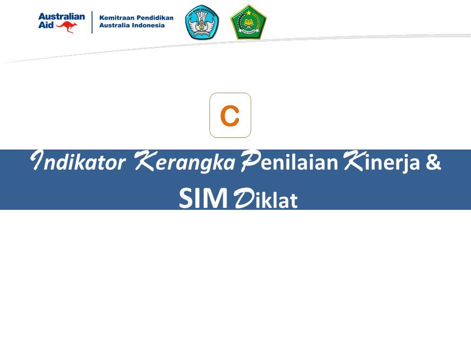 I ndikator K erangka P enilaian K inerja & SIM D iklat