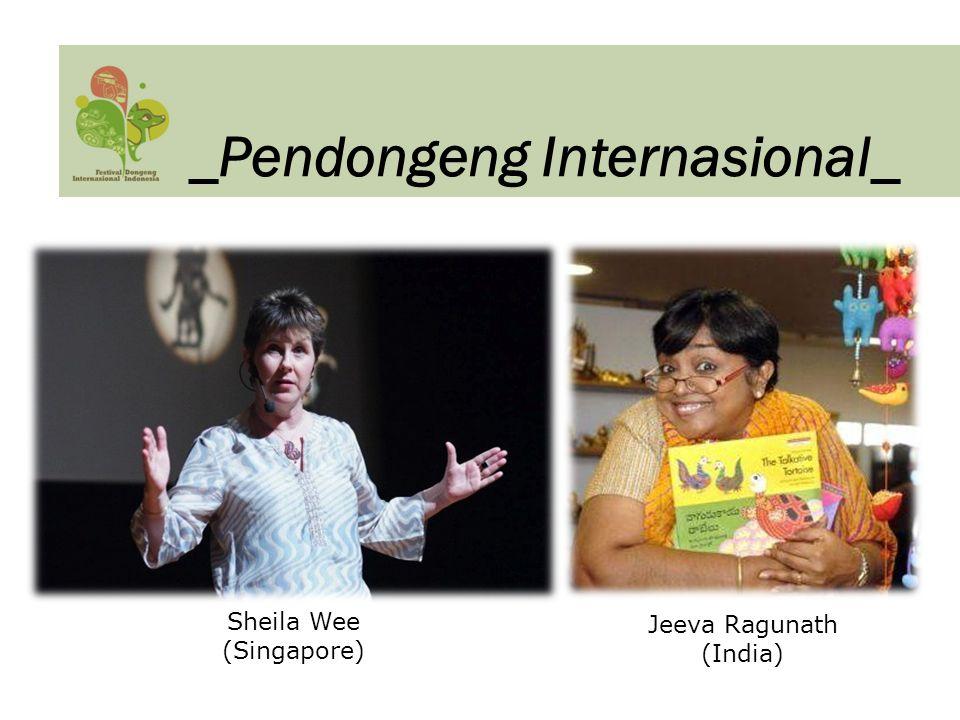 Sheila Wee (Singapore) Jeeva Ragunath (India) _Pendongeng Internasional_
