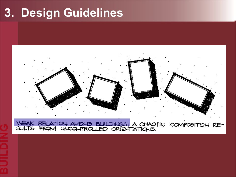 3. Design Guidelines BUILDING