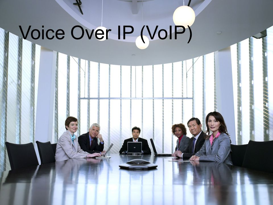 Transition slide Voice Over IP (VoIP)