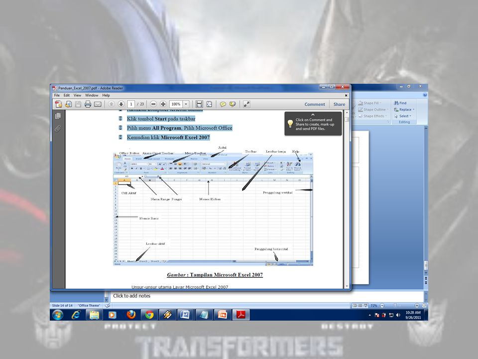 Tutorial Ms  Excell  Data Analysis dengan Excel Microsoft Excel