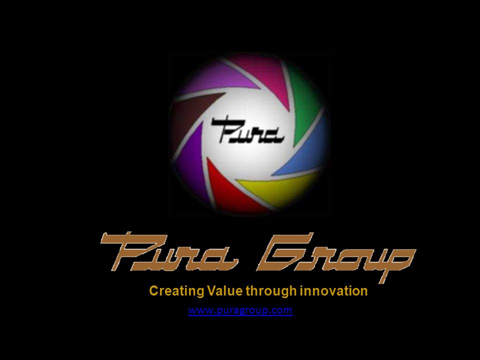 www.puragroup.com Creating Value through innovation