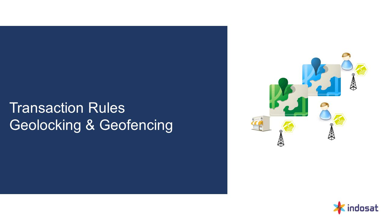 Transaction Rules Geolocking & Geofencing