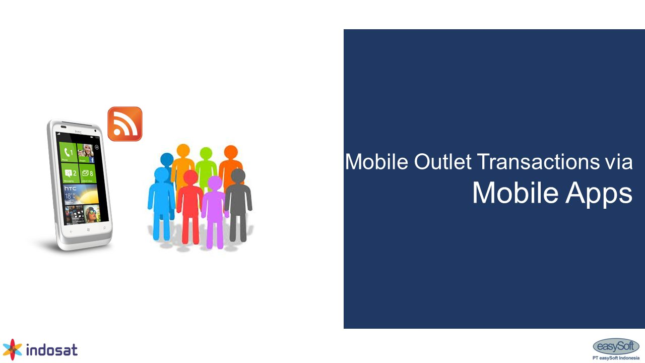 Mobile Outlet Transactions via Mobile Apps