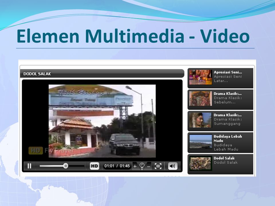Elemen Multimedia - Video